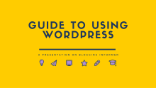 Guide to Using WordPress